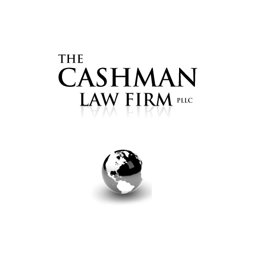 Cashman Law Firm, PLLC Logo.